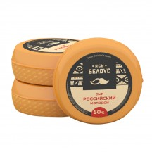 Cheese «Rossysky Molodoy» 50% (head)