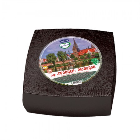 Cheese «Groytser Molodoy» 50% (weight) (Kopyl)