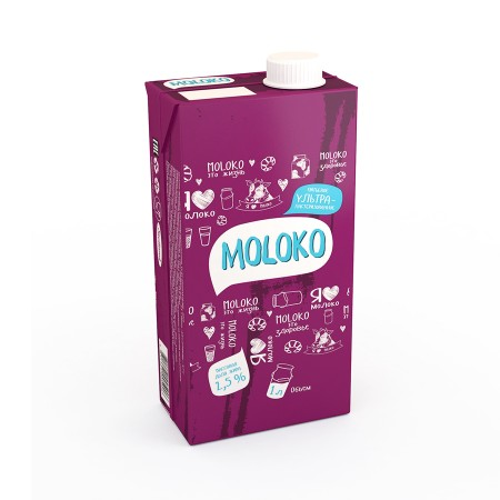 Milk ultra-pasteurized 2,5%