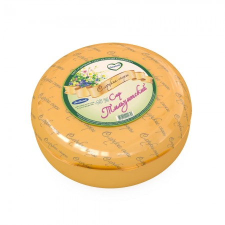 Cheese «Tilzitsky» 45% (weight)