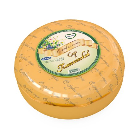 Cheese «Poshekhonsky» 45% weight